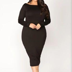 Fashion Nova Cairn Midi Dress XL